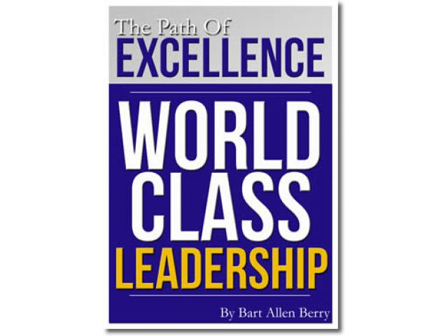 Free Book - The path to excellence: world class leadership