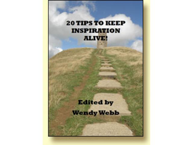 Free Book - Tips to Keep Inspiration Alive