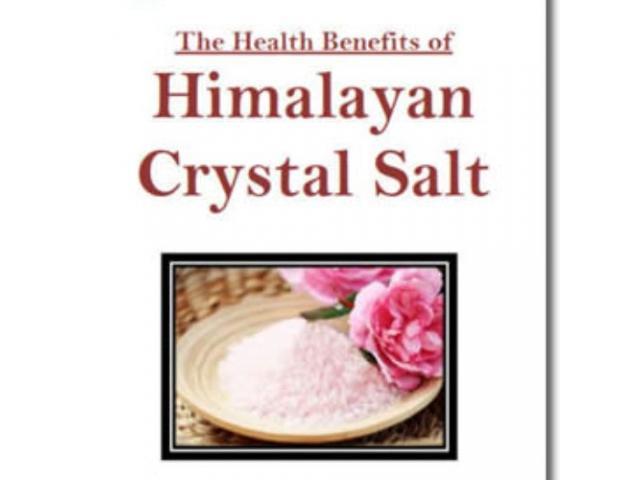 Free Book - The Health Benefits Of Himalayan Crystal Salt