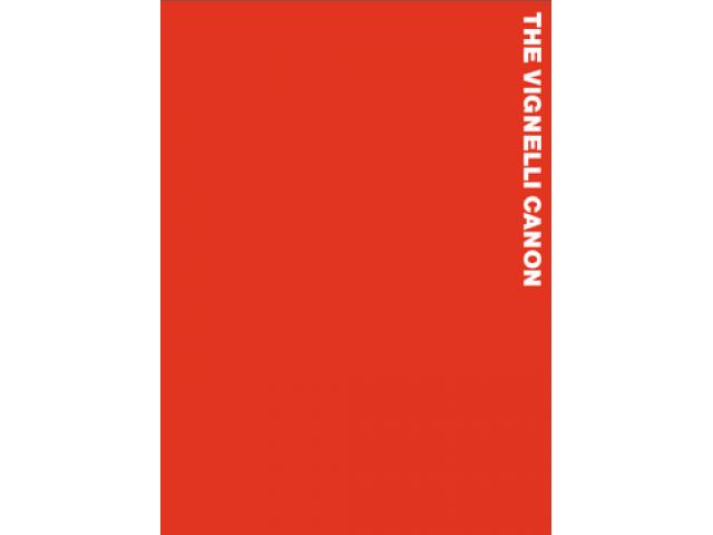 Free Book - The Vignelli Canon