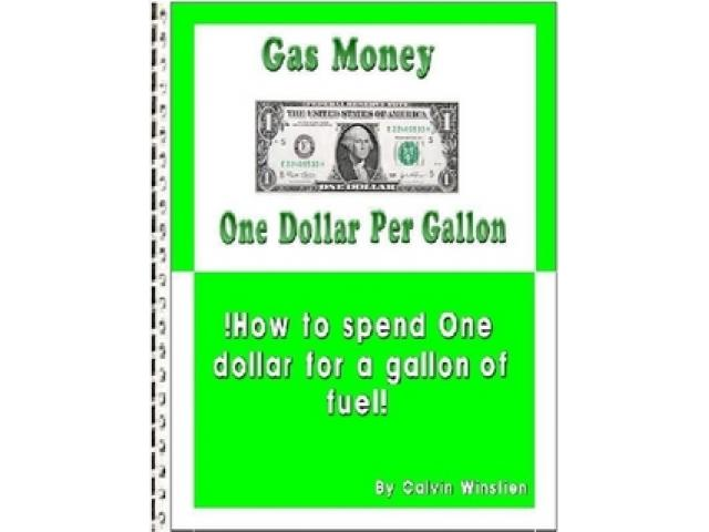 Free Book - Gas Money One Dollar Per Gallon