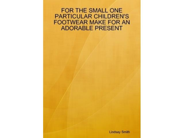Free Book - For The Small One...