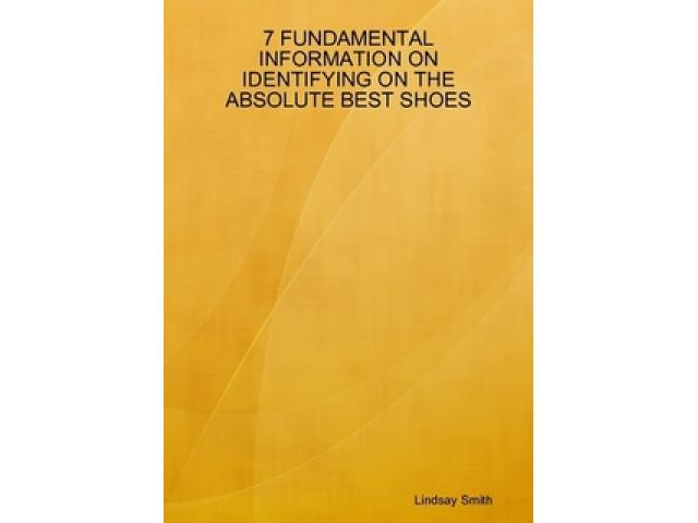 Free Book - Fundamental Information On Shoes