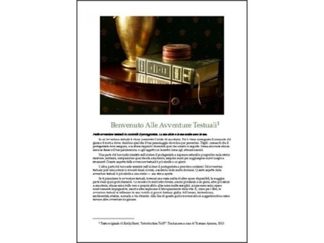 Free Book - Introduzione alle Avventure Testuali