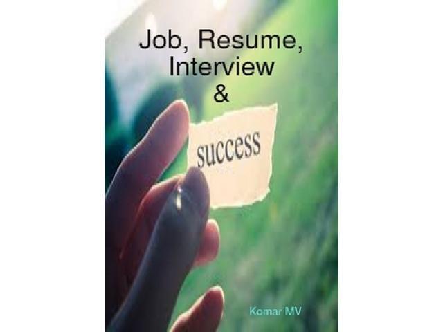 Free Book - Job, Resume, Interview & Success