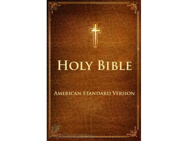 Free Book - The Bible, American Standard Version