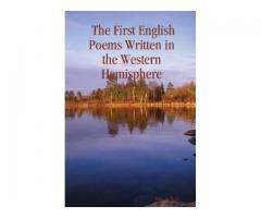 The First English Poems Written in the Western Hemisphere