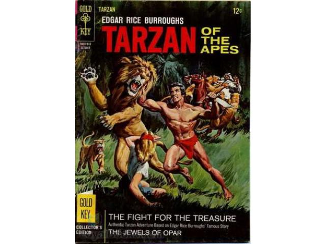 Free Book - Tarzan of the Apes