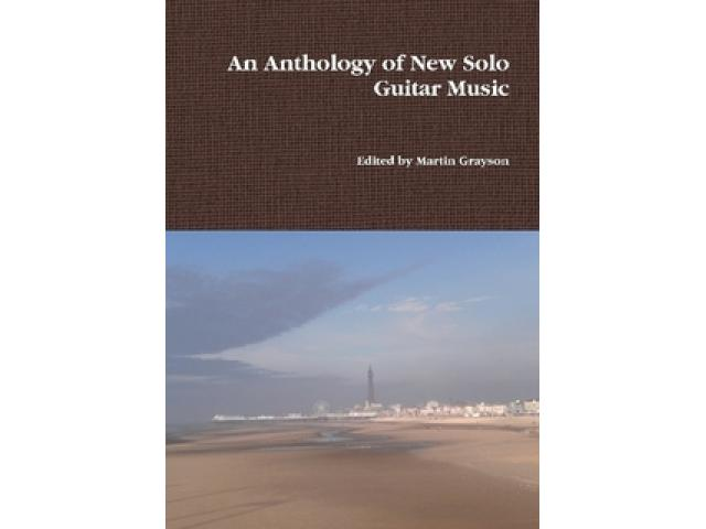 Free Book - An Anthology of New Solo Guitar Music