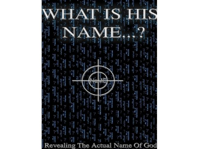 Free Book - What is his Name