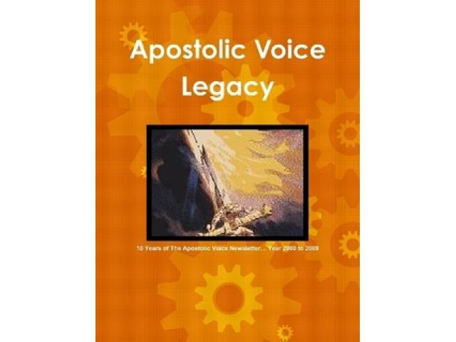 Free Book - Apostolic Voice Legacy