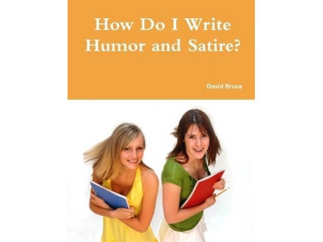 Free Book - How Do I Write Humor and Satire?