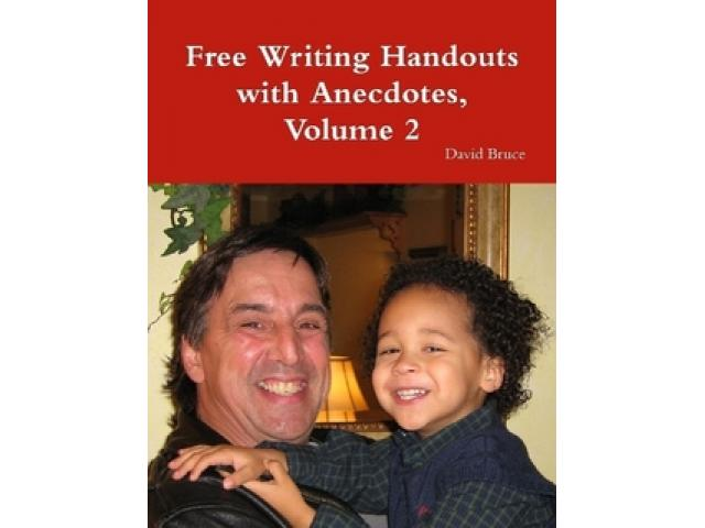 Free Book - Writing Handouts With Anecdotes, Volume 2