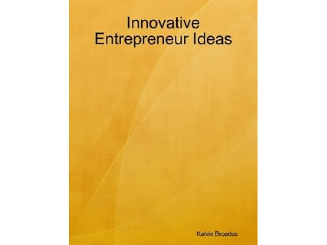Free Book - Innovative Entrepreneur Ideas