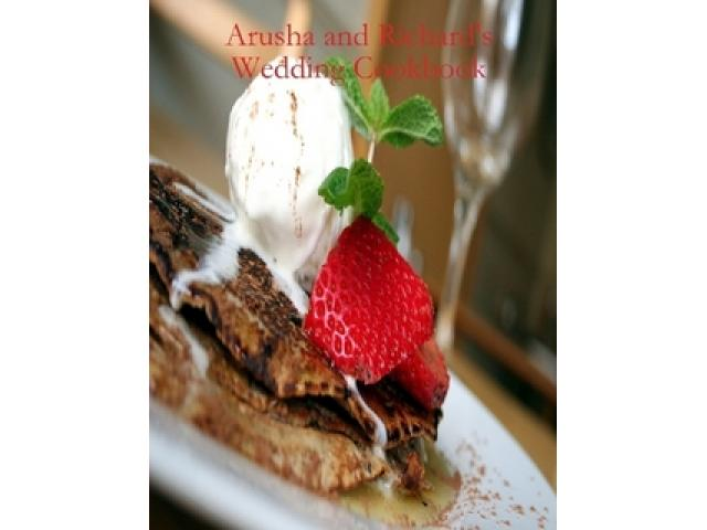 Free Book - Richard and Arusha's Wedding Cookbook