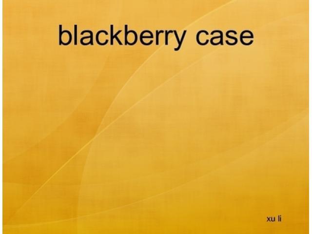 Free Book - blackberry case
