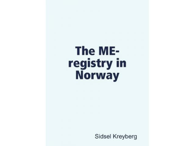 Free Book - The ME-registry in Norway