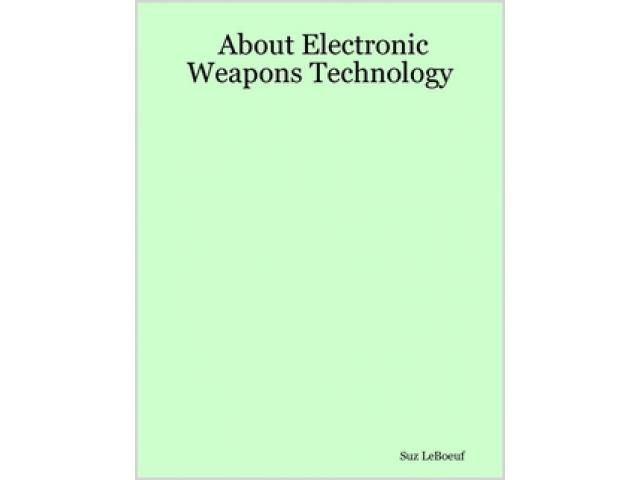 Free Book - About Electronic Weapons Technology