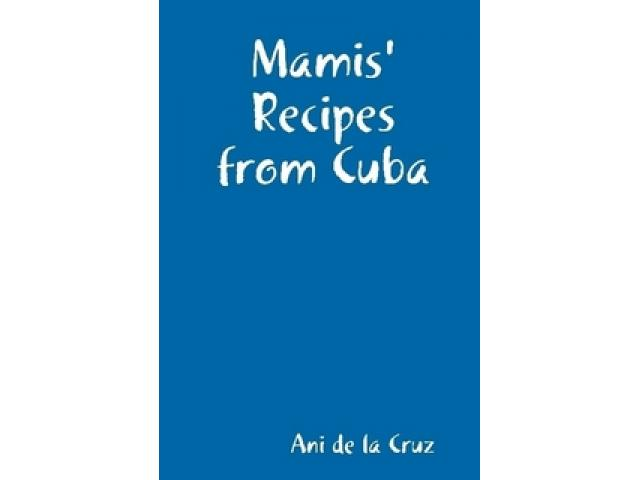 Free Book - Mamis' Recipes from Cuba