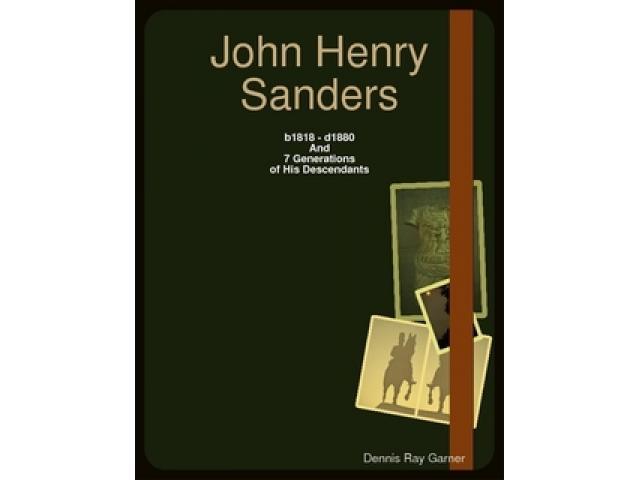 Free Book - John Henry Sanders