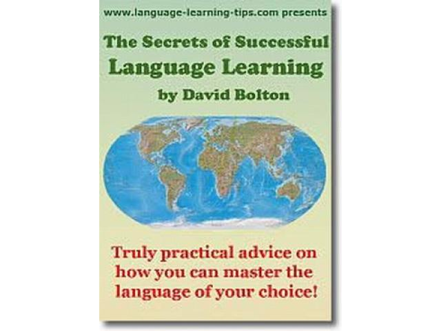 Free Book - The Secrets of Successful Language Learning
