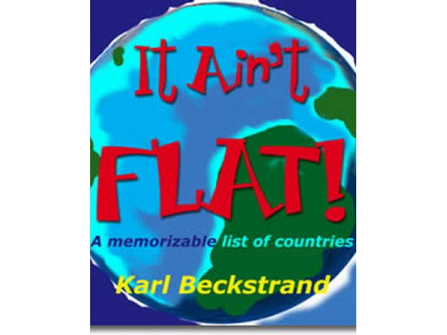 Free Book - It Ain't Flat: A Memorizable List of countries