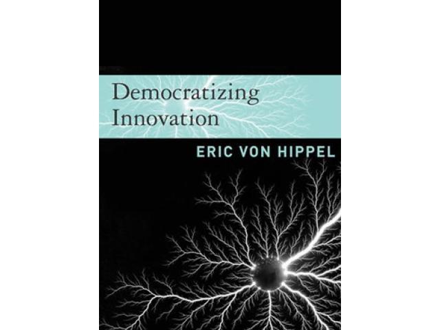 Free Book - Democratizing innovation