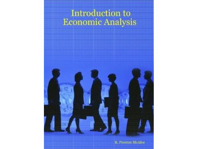 Free Book - Introduction to Economic Analysis