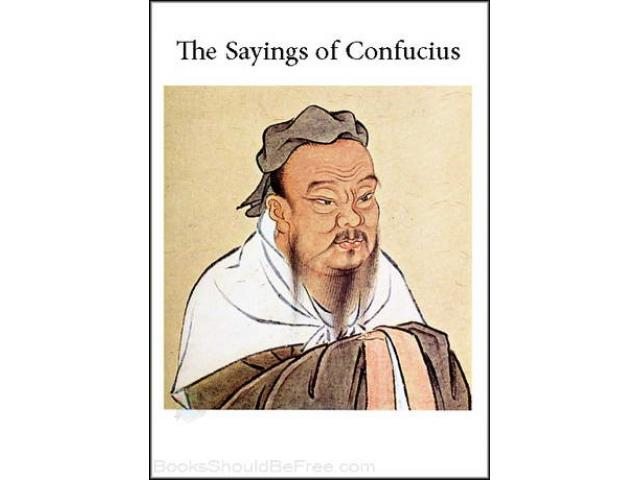 Free Book - The Sayings of Confucius