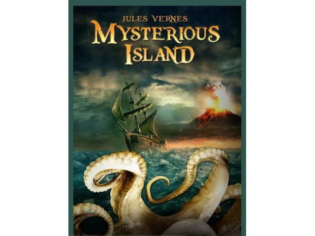 Free Book - The Mysterious Island