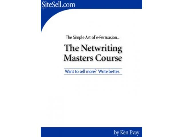 Free Book - The Netwriting Masters Course