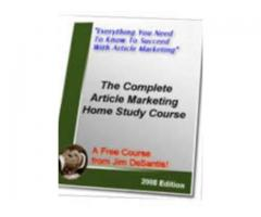 The Complete Article Marketing