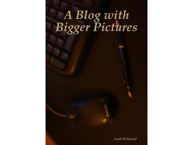 Free Book - A Blog with Bigger Pictures