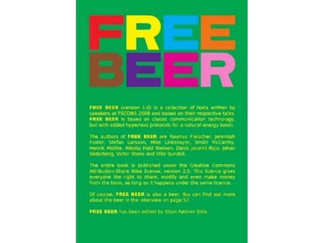 Free Book - Free Beer (1.0)