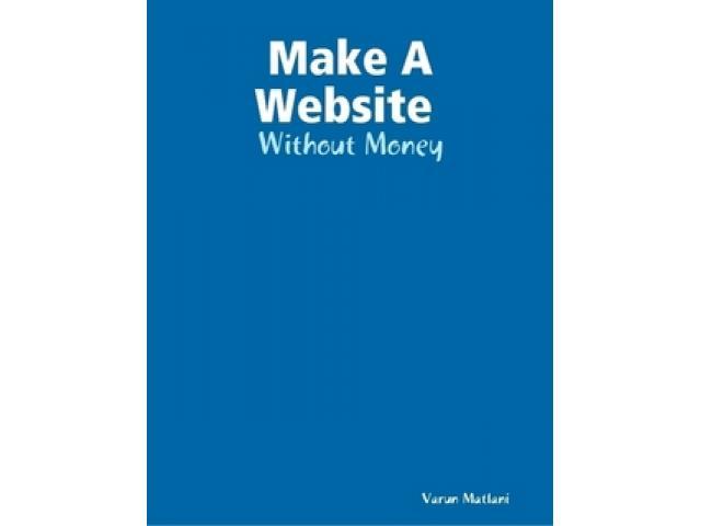 Free Book - Make A Website : FREE