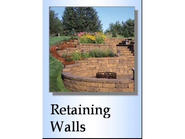 Free Book - How to Build a Retaining Wall