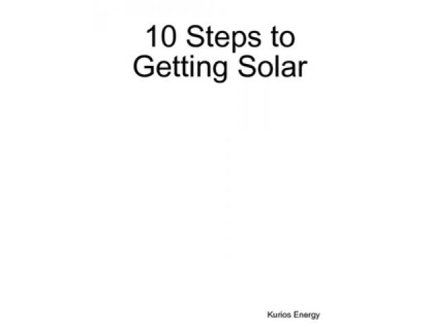 Free Book - 10 Steps to Getting Solar
