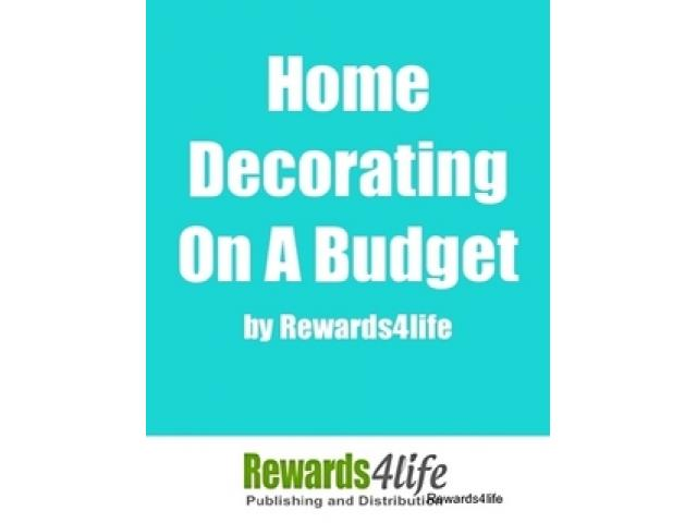 Free Book - Home Decorating on a Budget